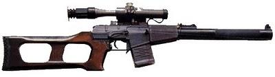 Sniper VSS Vintorez Point Blank